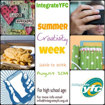 Integrateyfc Summer Creativity Week